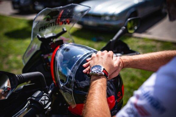 Karolis Mieliauskas aplink pasaulį keliaus motociklu