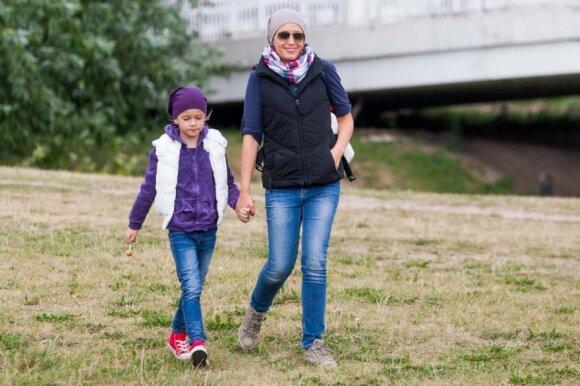 Kaip Elena Puidokaitė - Atlanta lavina 6 metų dukrytę