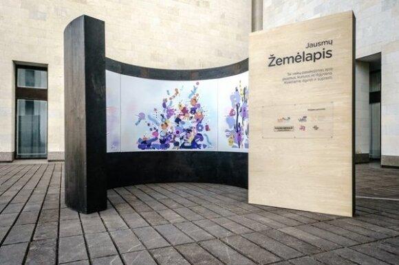 Interaktyvios garso instaliacijos kvies pažinti vaikų jausmų pasaulį