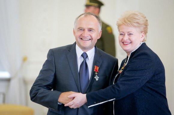 Jurgis Kairys ir Dalia Grybauskaitė