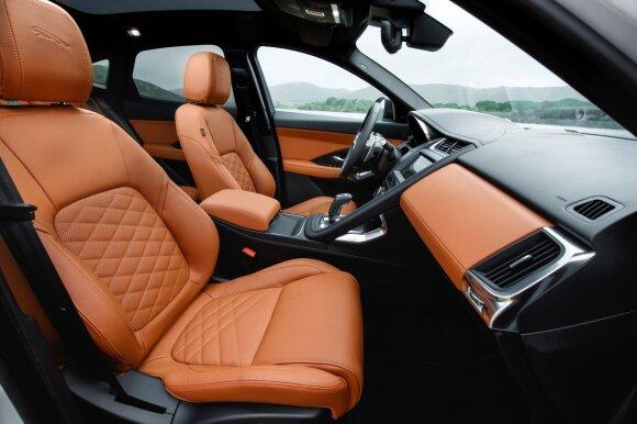 """""""Jaguar E-Pace"""" interjeras"""