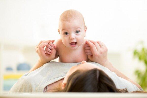 Kūdikio masažo galia