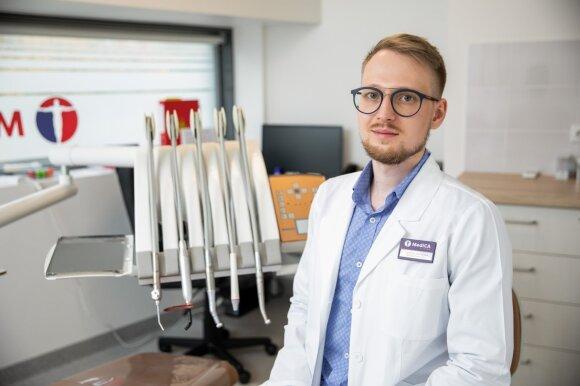 Odontologas Šarūnas Paškevičius