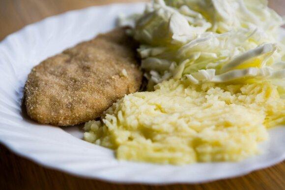 Kepsnys su bulvių koše ir daržovėmis – 522 kcal