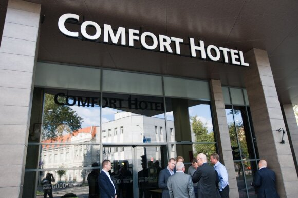 Иностранцы в вильнюсской гостинице были поражены: почему у вас это показывают?