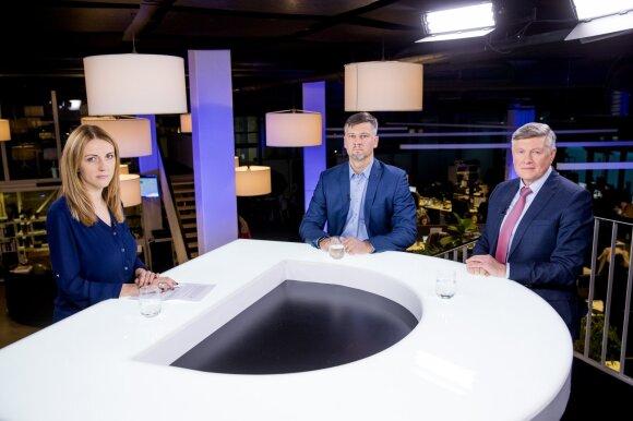 Daiva Žeimytė, Remigijus Merkevičius, Artūras Paulauskas