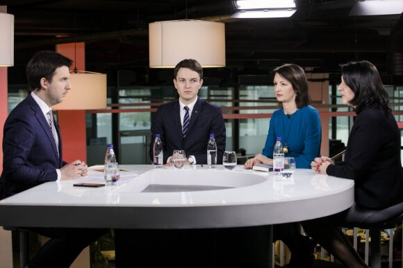 Arnas Mazėtis, Linas Kojala, Dalia Henke, Dalia Asanavičiūtė