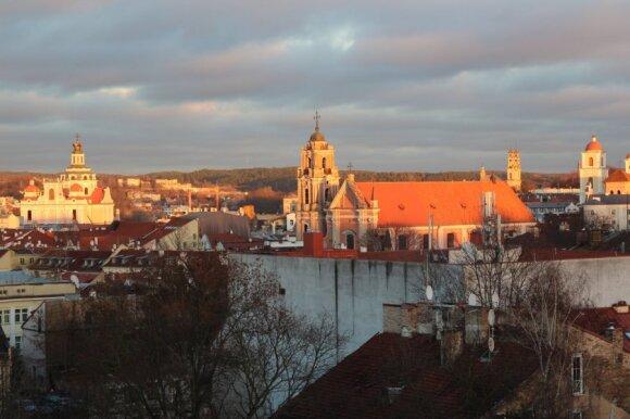 Vilnius oldtown. Photo by Paul Cataldo