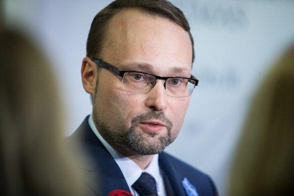 Naujasis kultūros ministras: įvedant saugiklius, būtina išsaugoti žodžio laisvę