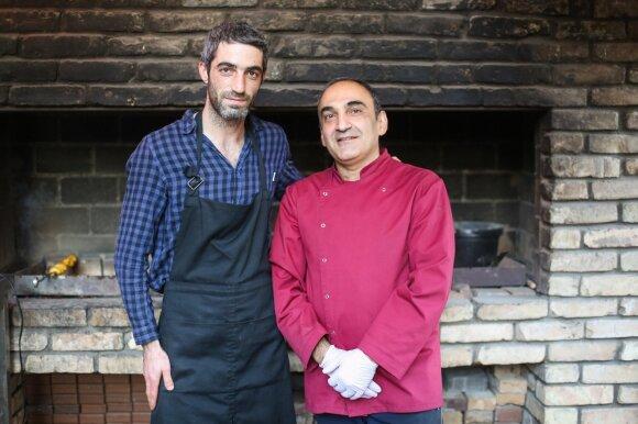 Virtuvės šefai – Karenas ir Erikas