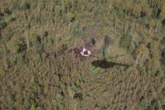 A.Pocius: po susidūrimo pilotai padarė viską, kad nukreiptų lėktuvą toliau nuo gyvenamos vietovės