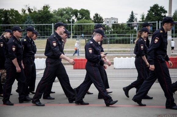 Policininkai Kaliningrade