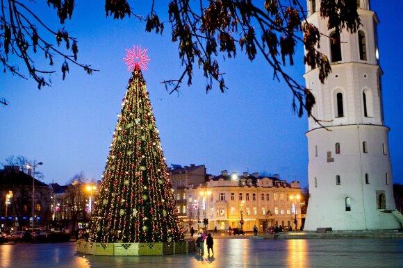 Kalėdų eglutė Vilniuje 2011 m.
