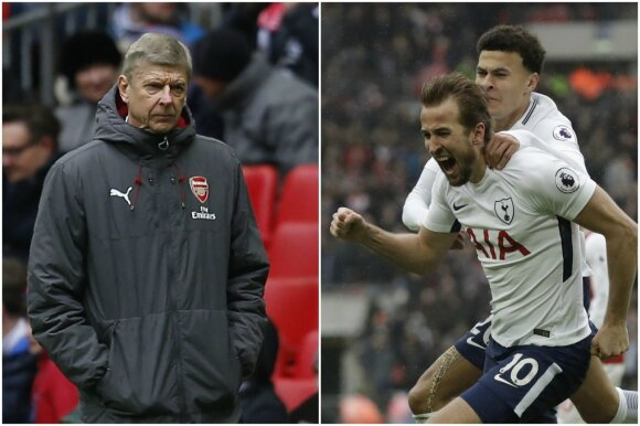 Arsene'as Wengeras ir Harry Kane