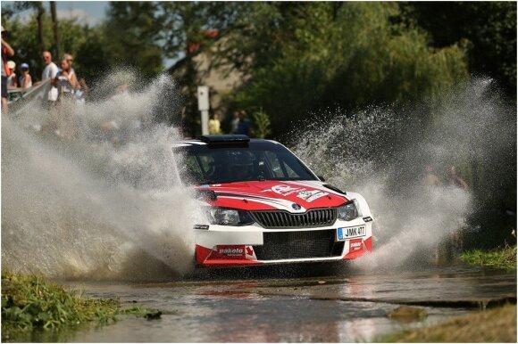 """Dominykas Butvilas ir """"Škoda Fabia R5"""""""