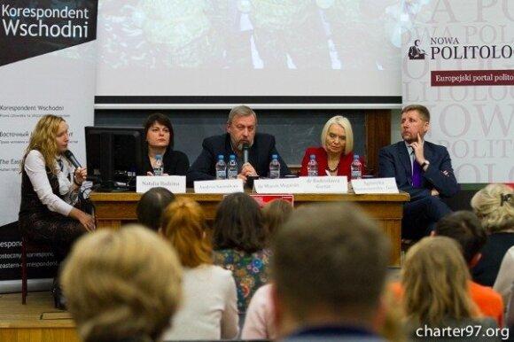 На конференции в Варшаве сравнили Площадь и Майдан