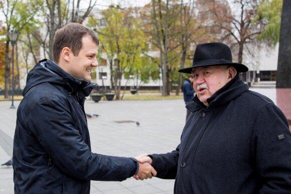 Gintautas Paluckas ir Donatas Katkus