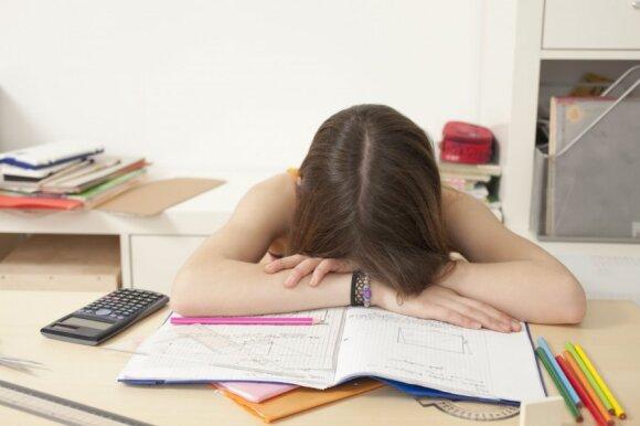 Ką daryti, norint sumažinti egzaminų keliamą stresą