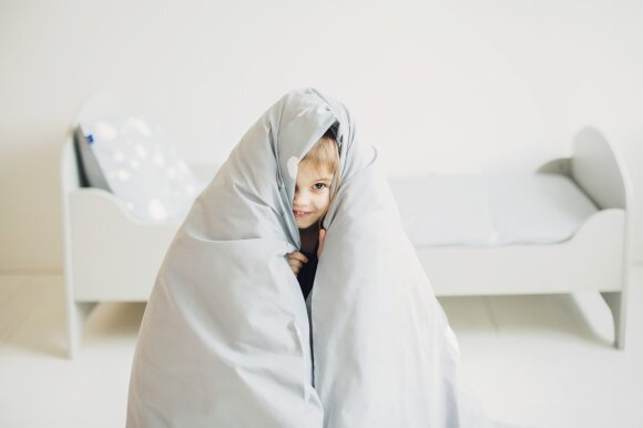 Sugalvojo, kaip mažų vaikų miego rutiną paversti linksmu ir maloniu procesu