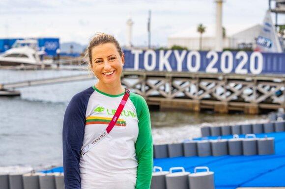 Viktorija Andrulytė Tokijo olimpinėse žaidynėse