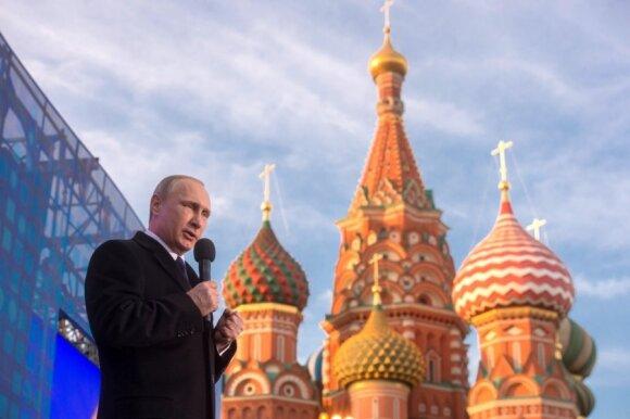 Vladimiras Putinas, Krymo aneksijos minėjimas Maskvoje