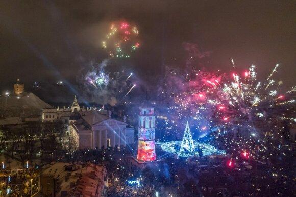 Naujieji metai Vilniuje