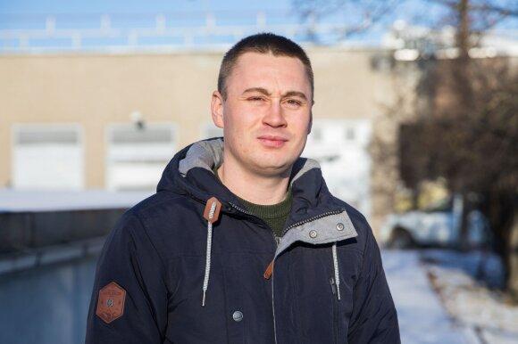 Nuotekų stočių skyriaus vyresnysis inžinierius Donatas Puzeris