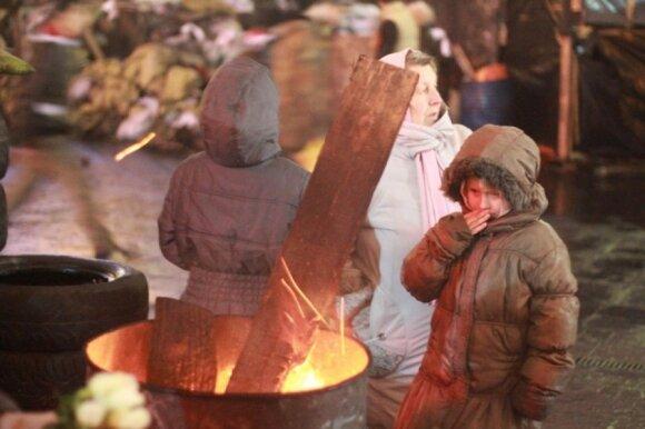 Sukrečiantys įspūdžiai iš Kijevo: Maidane žmonės atrodė kaip vaikščiojantys negyvėliai