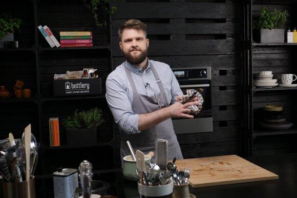 Virtuvės šefas Gediminas Endriukaitis
