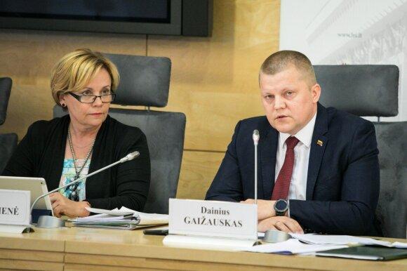 Rasa Juknevičienė, Dainius Gaižauskas