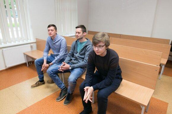 Vaidotas Grincevičius, Mantas Grincevičius ir Giedrius Sasnauskas