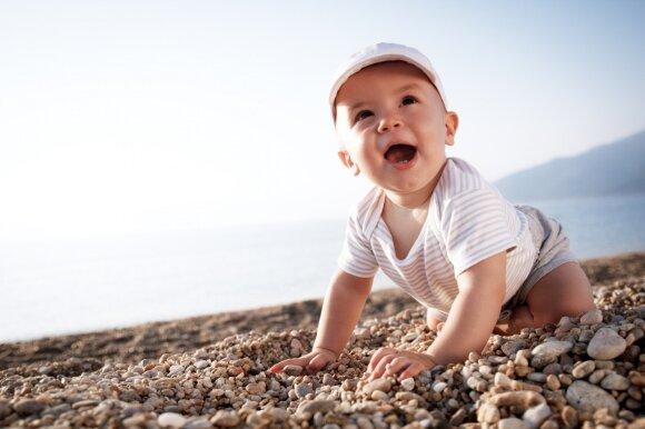Vasara – palankus metas lavinti kūdikį: 7 idėjos