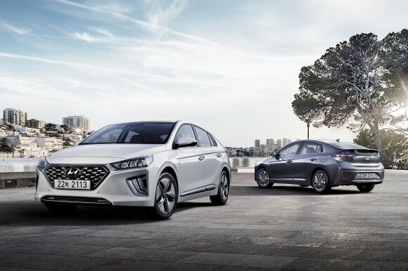 "Atnaujintas ""Hyundai Ioniq Electic"""
