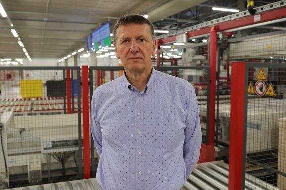 """AB """"Freda"""" akcininkas ir valdybos pirmininkas Rimas Varanauskas"""