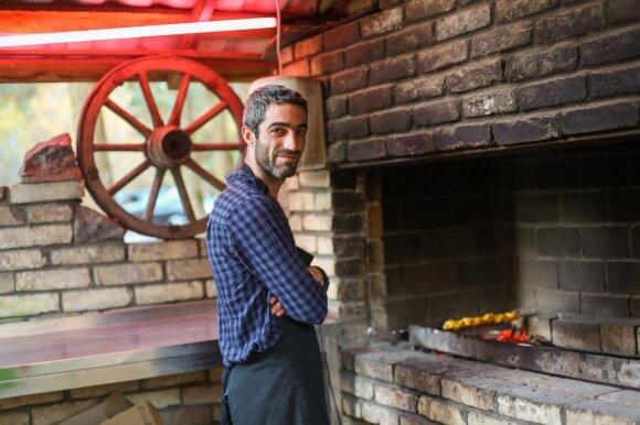 Virtuvės šefas Erikas