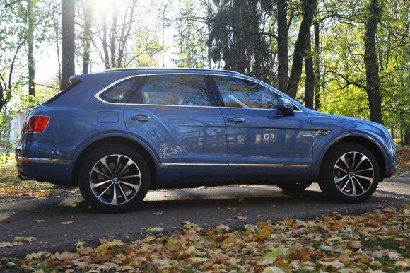 """""""Bentley Bentayga"""" gaminamas naudojant tą pačią platformą kaip ir """"Audi Q7"""""""