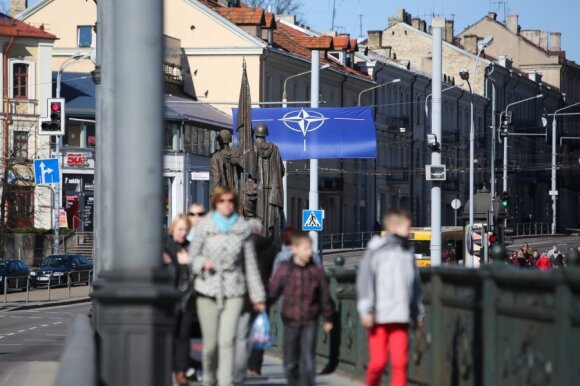 Baltic states came under the protective shield of NATO in 2004