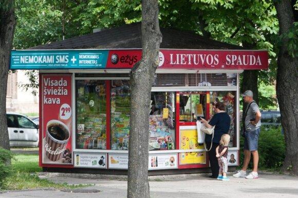 """""""Narvesen"""" ir """"Lietuvos spauda"""" kioskai pradeda prekybą bitkoinais"""
