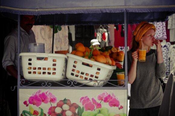 """""""Mano atostogų atradimai"""" X: Maroko spalvos ir skirtingi veidai"""