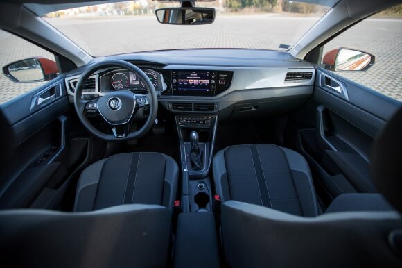 """""""Volkswagen Polo"""" salonas – be priekaištų"""