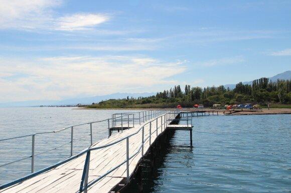 Isyk Kulio ežeras