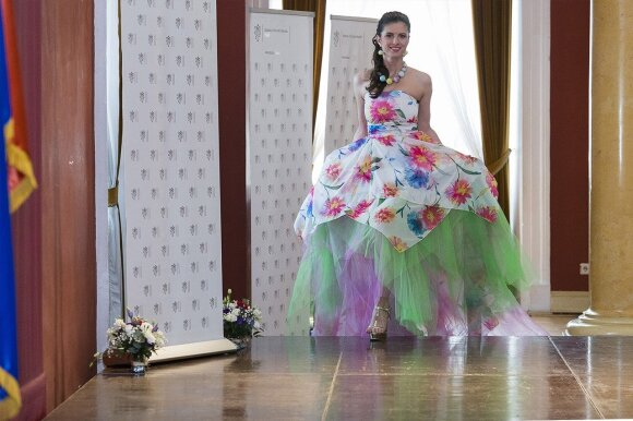 Colourful Czech fashion in Vilnius  Photo © Ludo Segers @ The Lithuania Tribune