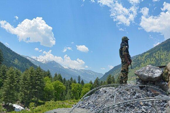 Indijos pajėgos Kašmyre