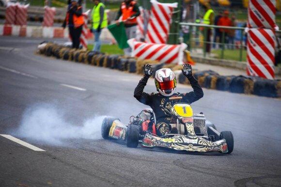 """Kaune vyks """"Rimo Grand Race"""" kartingo varžybos"""