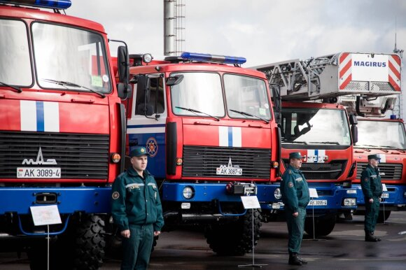 Baltarusiai įsileido į Astravo AE, bet uždavus klausimų pasiūlė važiuoti atgal į Lietuvą