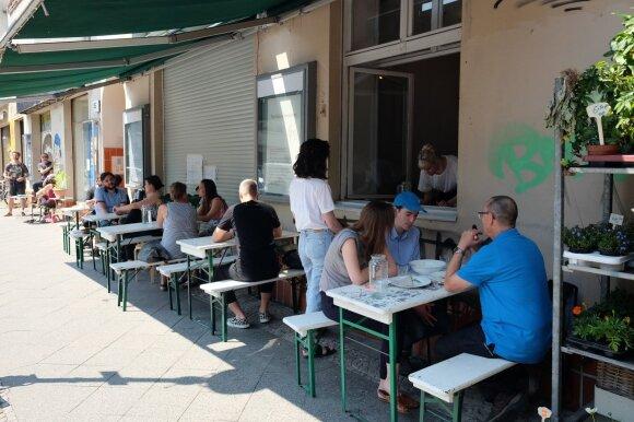 Pusryčiai ekologiškame restorane