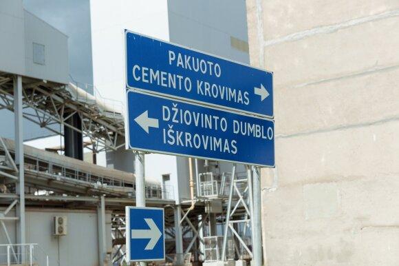 Naujosios Akmenės cementas