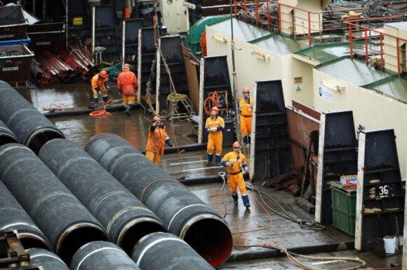 """Londono universiteto profesorius apie """"Nord Stream 2"""": tai energijos Trojos arklys"""