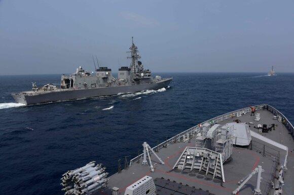 """Karinės jūrų pratybos """"Malabar"""""""