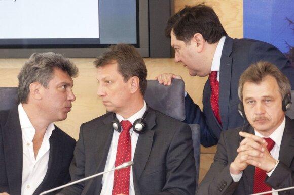 Эмануэлис Зингерис: Кремль отказался от сотрудничества по докладу об убийстве Немцова